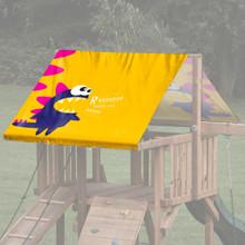 Purple Monster Playset Roof Tarp