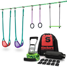 Slackers Swingline - Portable Swing Set for Trees