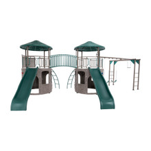 Lifetime Double Adventure Tower with Monkey Bars (90966)
