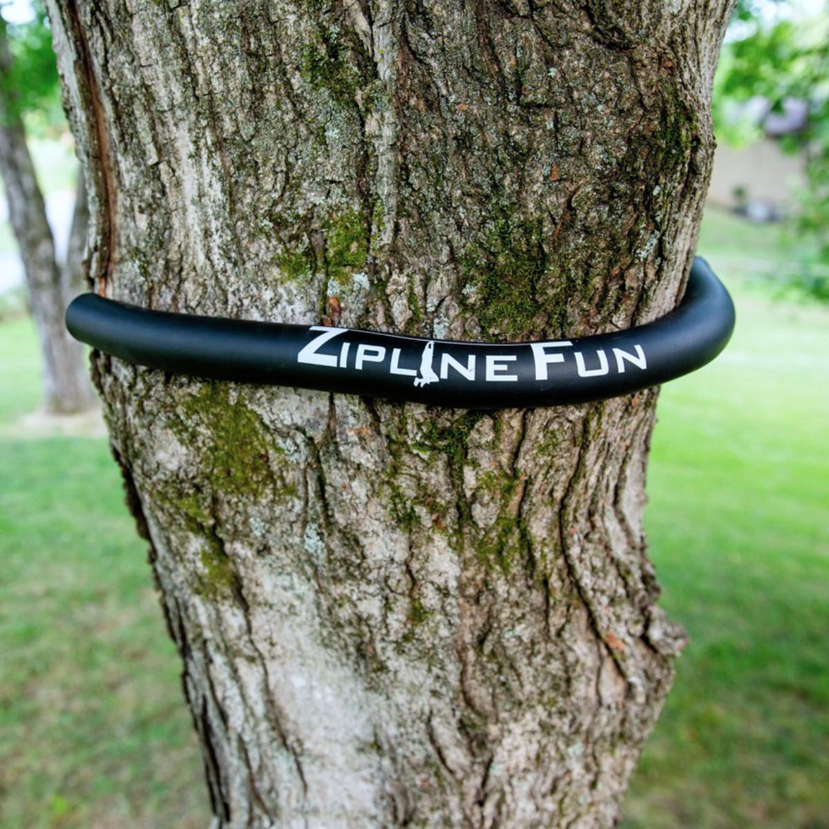 100X - 100' Zip Line Bundle - Tree Protector