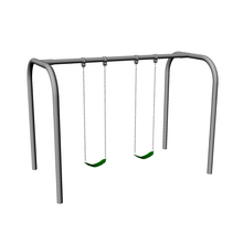 Arch Frame Swing Set with 2 Swings