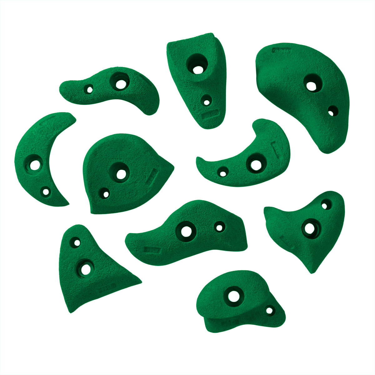 Composite Sand Hand Holds - Green
