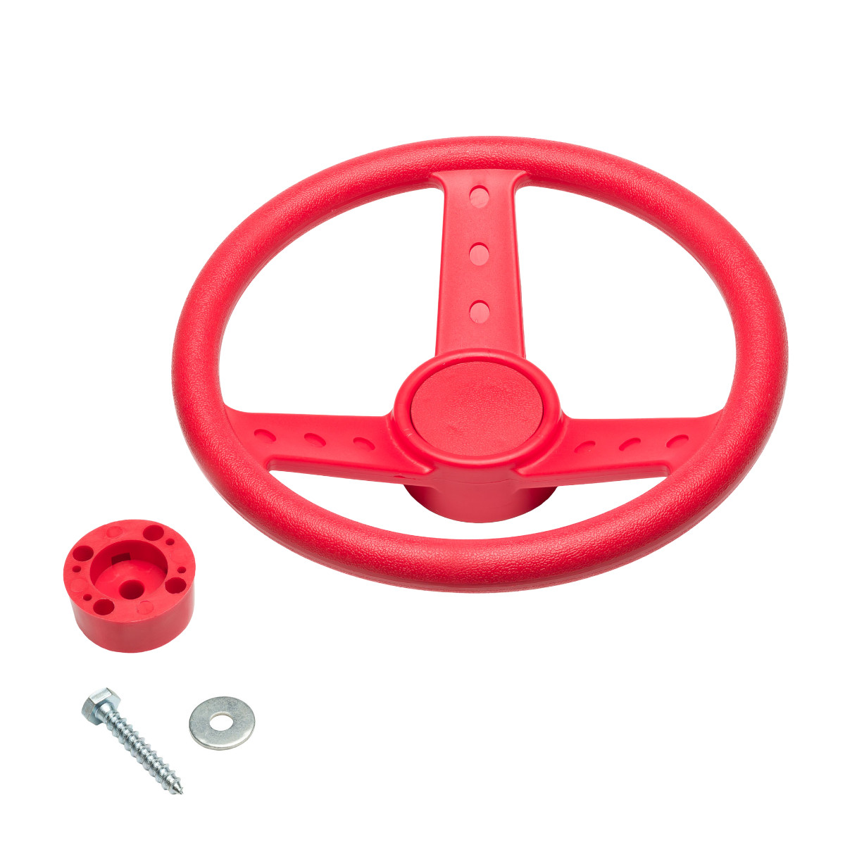 Auto Steering Wheel Red (SWR-R)