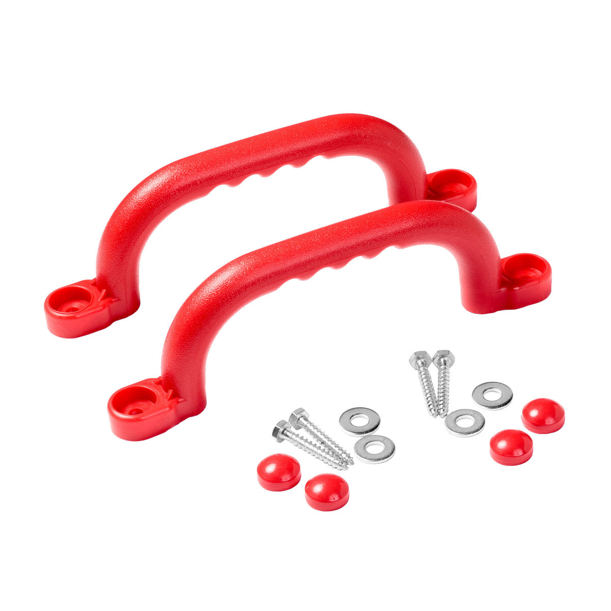 Hand Grip with Finger Ridges - HGR - Red