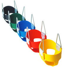 High Back Full Bucket Infant Swing Seat