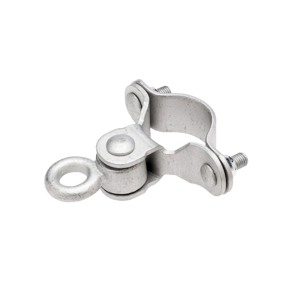 """Stamped Steel Pipe Beam Swing Hanger - 2-3/8"""" Loop"""