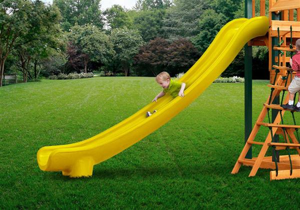 Super Straight Scoop Slide (03-0007) - Yellow