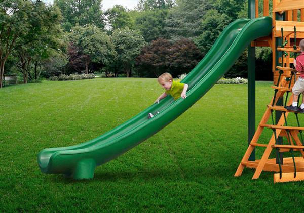 Super Straight Scoop Slide (03-0007) - Green