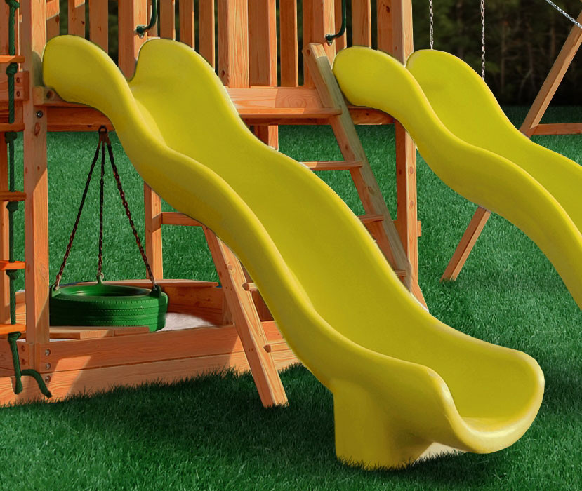 Super Wave Scoop Slide - Yellow