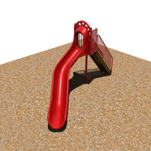 """6' Sectional Slide with 3.5"""" Posts (902-293)"""