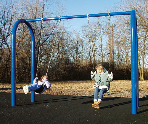 "5"" OD Arch Post Swing Set"