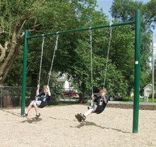 "4.5"" OD Single Post Swing Set (581-502)"