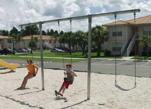 "Heavy Duty ""T"" Swing Set"