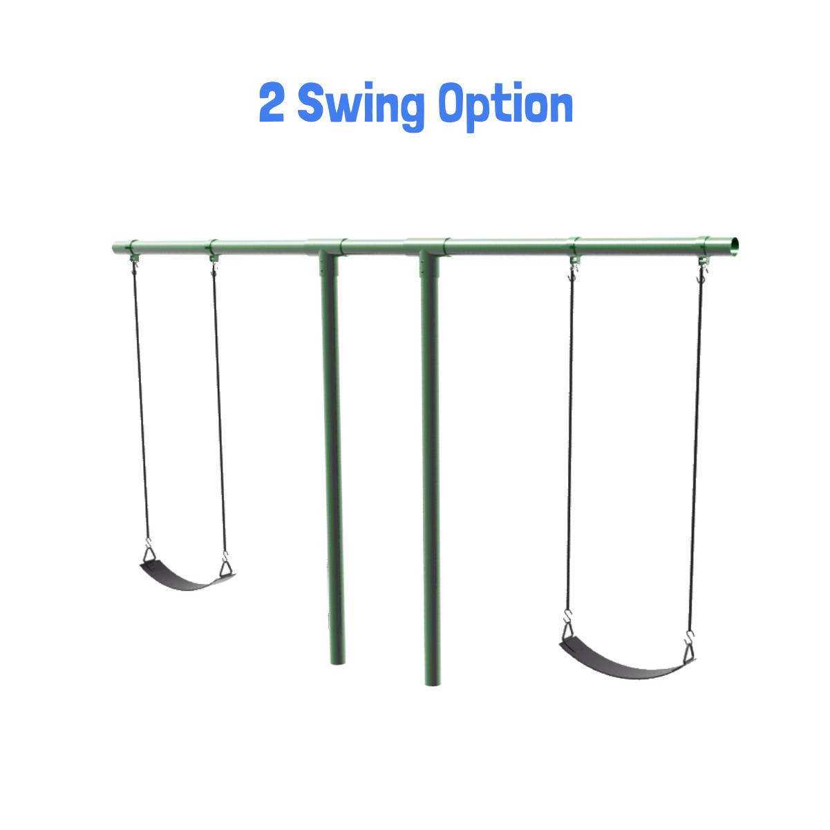 """Heavy Duty """"T"""" Swing Set"""