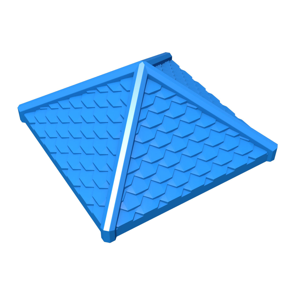 Shingled Pyramid Roof