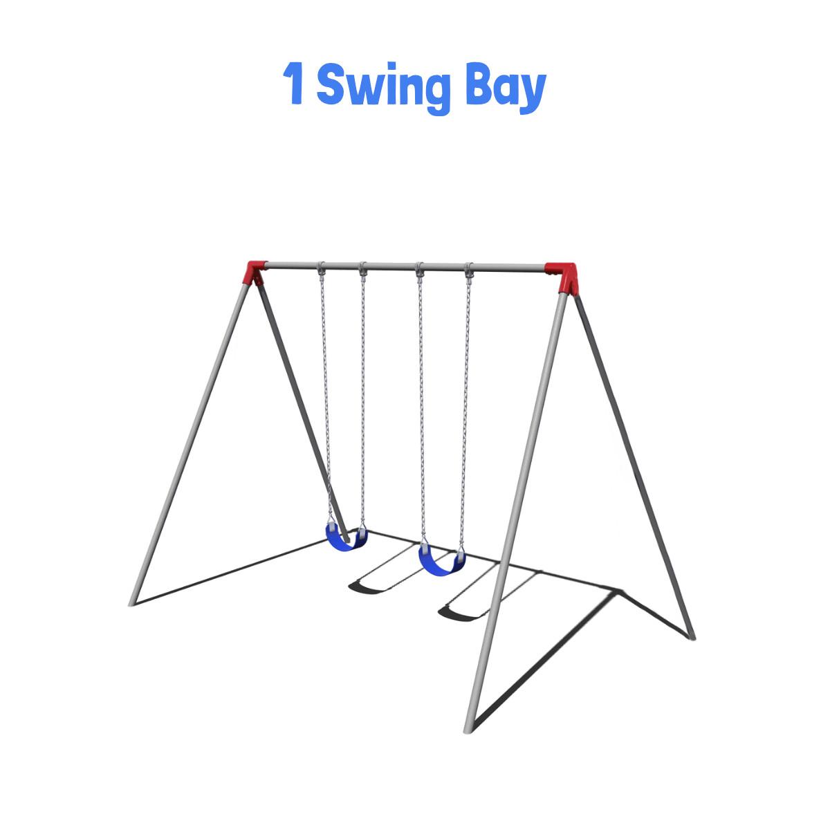8' Bipod Swing Set Frame