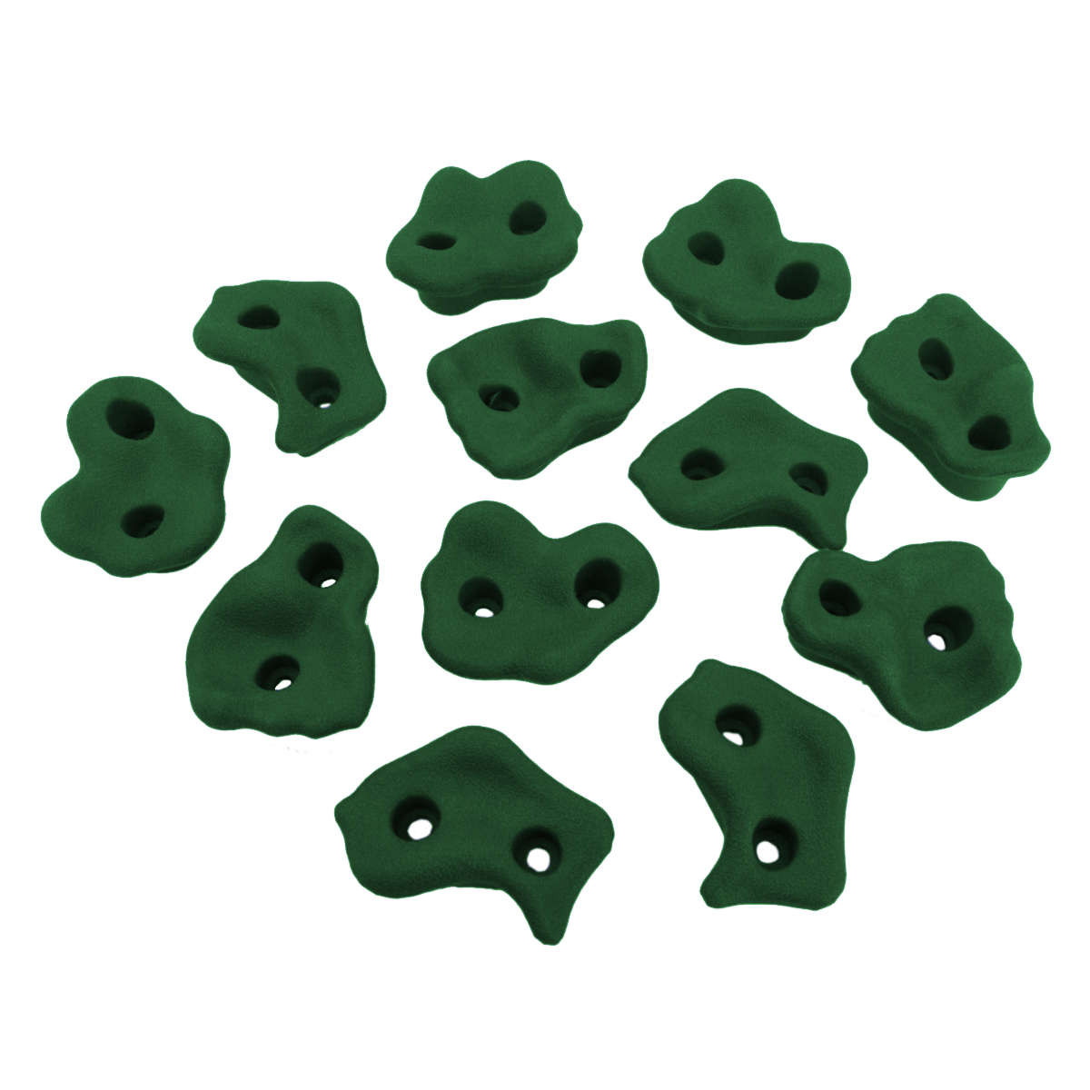 Small Climbing Rock Holds - Green