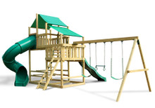 Frontier Fort with Swing Set - DIY Kit (28-2005)