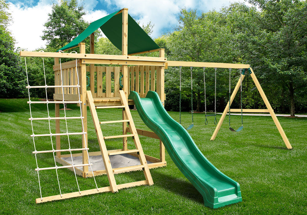 Ordinaire Eclipse Fort With Swing Set   DIY Kit (28 2003)