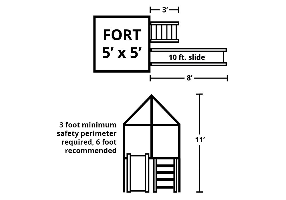 Discovery Fort Kit - Overhead