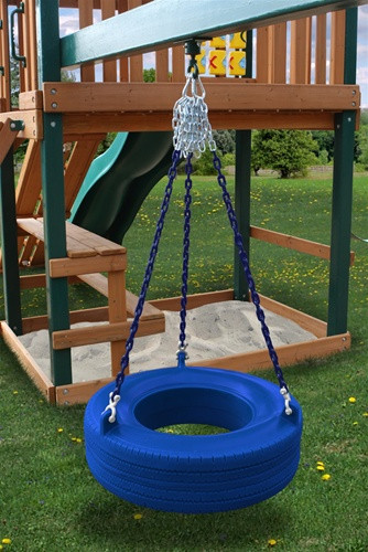 Tire Swing Add-On Kit - Blue Tire