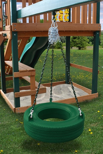 Tire Swing Add-On Kit - Green Tire