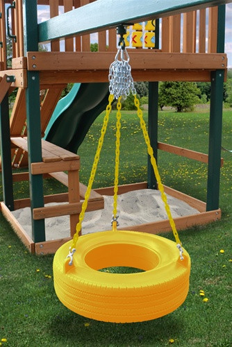 Tire Swing Add-On Kit - Yellow Tire