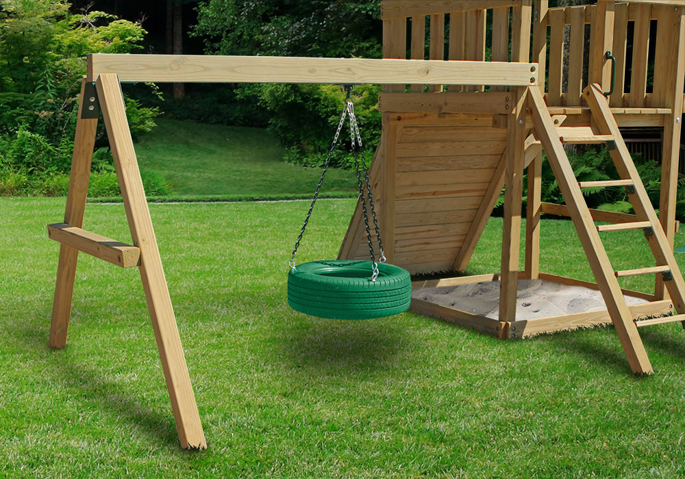 DIY Swing Set Kits & Plans - SwingSetMall.com