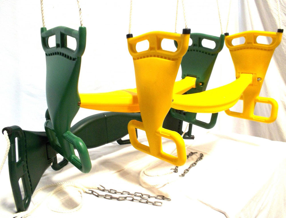 Glider Swing with Rope
