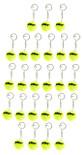 Prince Tennis Ball Keychain 25 Pack