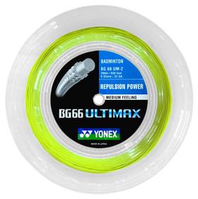 Yonex BG66 Ultimax 0.65mm Badminton 200M Reel