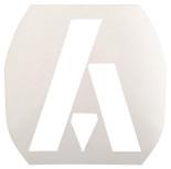 Ashaway Badminton Stencil