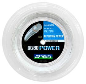 Yonex BG80 Power 0.68mm Badminton 200M Reel