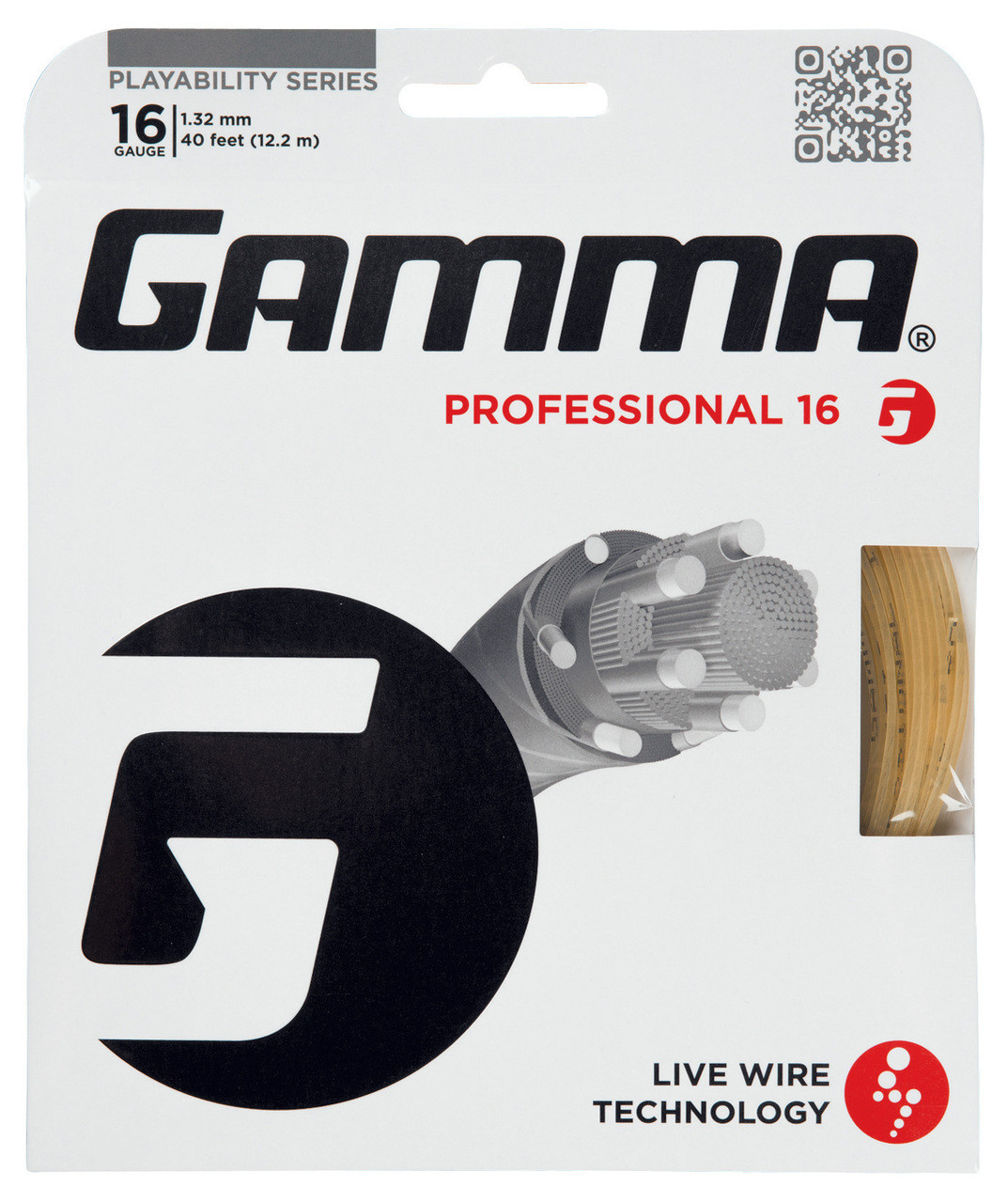 Gamma live wire professional 16 132mm set racquet depot uk gamma live wire professional 16 132mm set greentooth Image collections