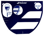 Babolat Tennis Stencil