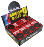 Karakal Red Dot Squash Balls 12 Pack