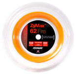 Ashaway ZyMax 62 Fire 0.62mm Badminton 200M Reel