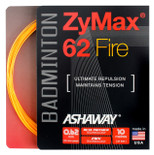 Ashaway ZyMax 62 Fire 0.62mm Badminton Set