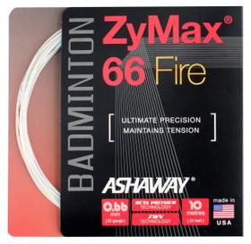 Ashaway ZyMax 66 Fire 0.66mm Badminton Set
