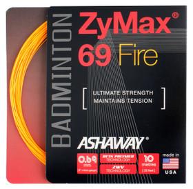 Ashaway ZyMax 69 Fire 0.69mm Badminton Set