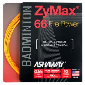 Ashaway ZyMax 66 Fire Power 0.66mm Badminton Set