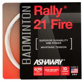 Ashaway Rally 21 Fire 0.70mm Badminton Set
