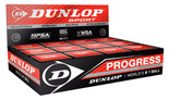 Dunlop Progress Red Dot Squash Balls 12 Pack