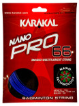 Karakal Nano Pro 66 0.66mm Badminton Set