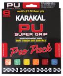 Karakal PU Super Grip Universal Replacement Grip 6 Pack