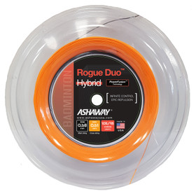 Ashaway Rogue Duo 0.68-0.61mm Badminton Hybrid 200M Reel