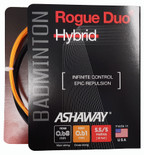 Ashaway Rogue Duo 0.68-0.61mm Badminton Hybrid Set