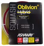 Ashaway Oblivion 1.15-1.20mm Squash Hybrid Set