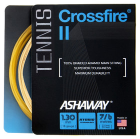 Ashaway Crossfire II 16 1.30mm Hybrid Set