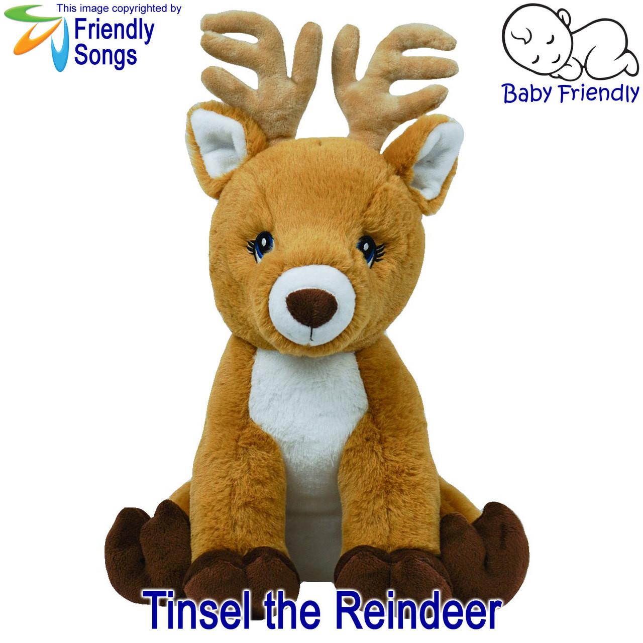 Jessica Naomee standard name - personalized singing stuffed animal plush
